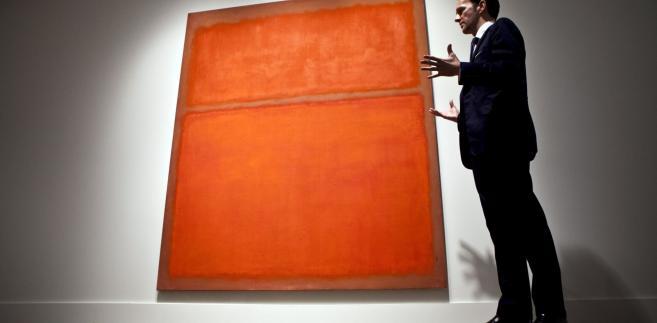 """Obraz """"untitled"""" Marka Rothko."""