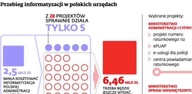Przebieg informatyzacji w polskich urzędach