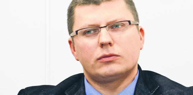 Wiceminister sprawiedliwości Marcin Warchoł /fot. Wojtek Gorski