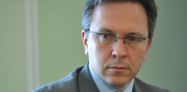 Krzysztof Rybiński rektor Akademii Finansów i Biznesu Vistula w Warszawie