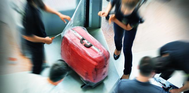 walizka lotnisko