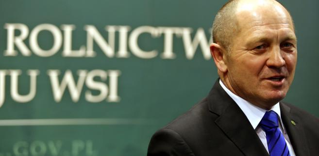 Ponownie powołany na stanowisko ministra rolnictwa i rozwoju wsi Marek Sawicki