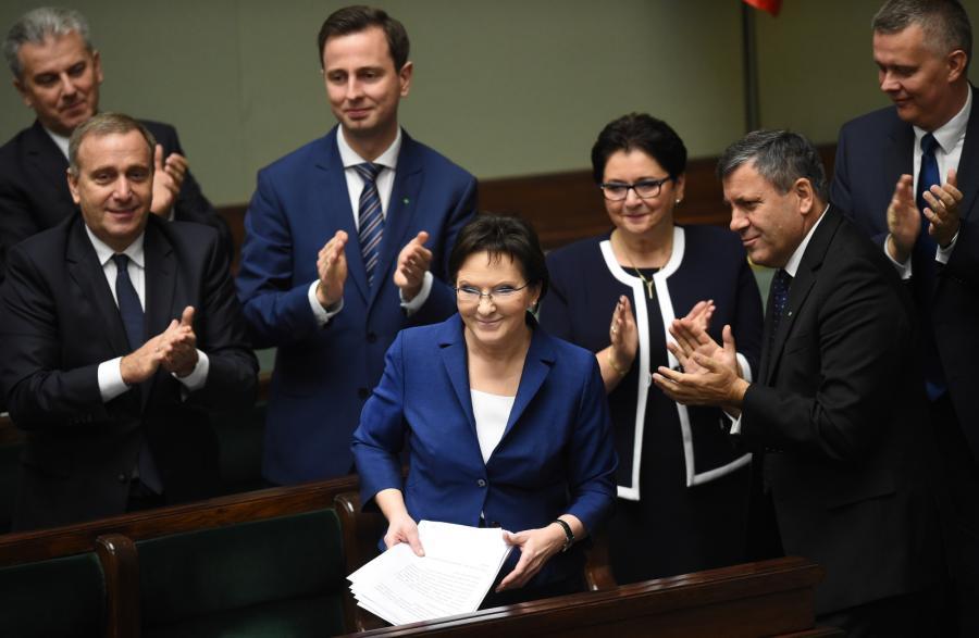 Ewa Kopacz; brawa, sejm
