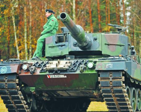 Czołgu Leopard 2 A4 nasza zbrojeniówka także nie była w stanie sama zmodernizować