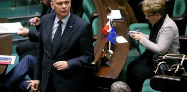 Poseł PO Tomasz Siemoniak