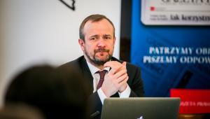 adw. Paweł Rybiński, dziekan Izby Adwokackiej w Warszawie