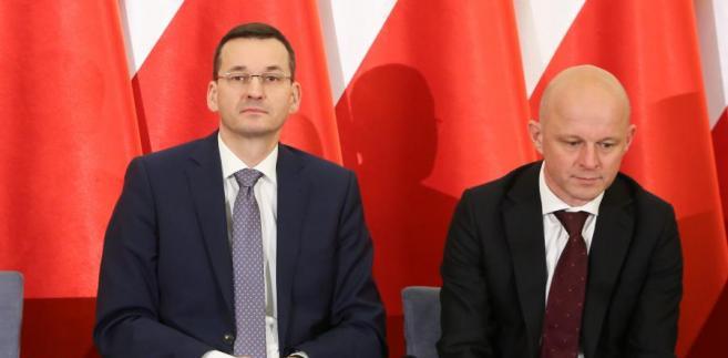 Szałamacha Morawiecki konferencja