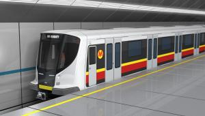 Pesa. Jedna z koncepcji pociągu metra. Projekt dofinanansuje NCBR