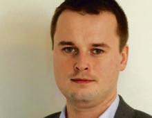 """Dr Jarosław Szczepański politolog i prawnik, autor projektu """"Trójkąt ideologiczny"""", pracuje na Uniwersytecie Warszawskim"""
