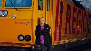 Radim Janczura, czeski biznesmen, właściciel firmy RegioJet