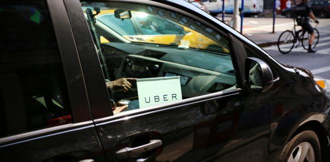 Uber, samochód