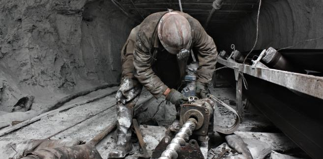 kopalnia, górnik