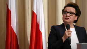Minister Anna Zalewska nie chce opóźniać wprowadzenia reformy