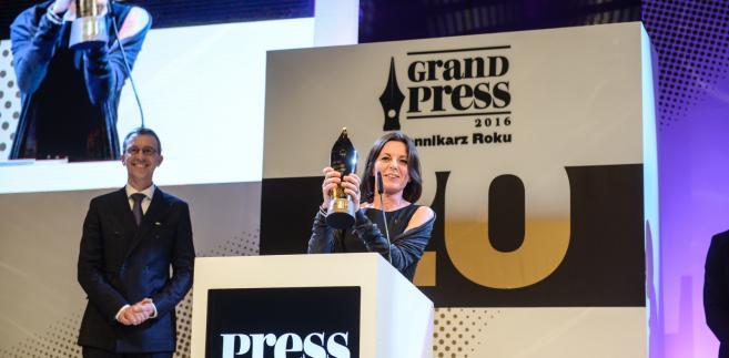 Wicenaczelna i szefowa zespołu śledczego portalu OKO.press Bianka Mikołajewska otrzymała tytuł Dziennikarza Roku