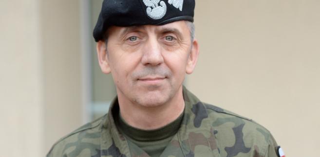 Na zdjęciu archiwalnym z 28.10.2016 r. zastępca Dowódcy Operacyjnego Rodzajów Sił Zbrojnych generał brygady Sławomir Wojciechowski