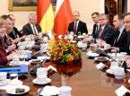 Merkel w Polsce: Opozycja rozmawiała o trybunale i cenach buraków