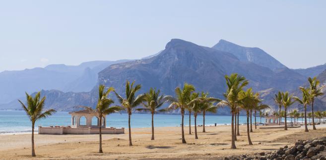 Oman, plaża, morze, turystyka, lato