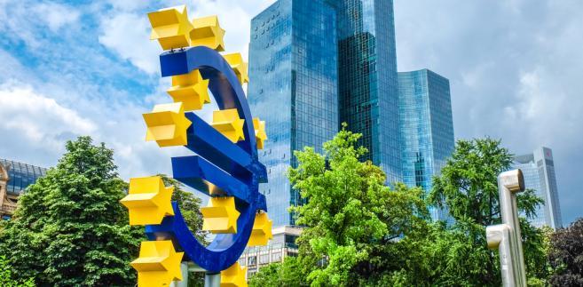EBC co miesiąc wpuszcza do systemu finansowego 60 mld euro