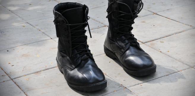 Wojskowe buty