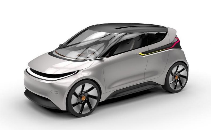 Mateusz Tomiczek wymyślił sobie, że tak będzie wyglądać polski samochód elektryczny