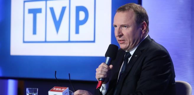 Jeżeli się bierze pożyczkę, to ona w rachunku finansowym jest po stronie minusów – podkreśla prezes Telewizji Polskiej Jacek Kurski