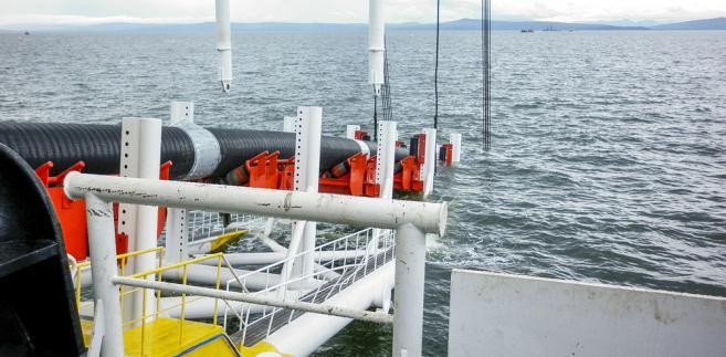 Według rosyjsko-niemieckiego projektu 139 km Nord Stream 2 ma przebiegać przez duńskie wody terytorialne