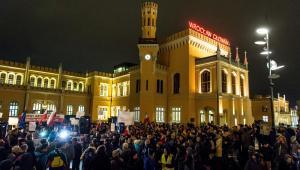 Wrocław - marsz przeciwko faszyzmowi