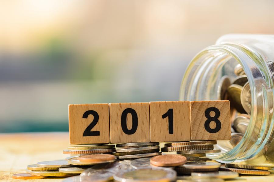 pieniądze 2018 rok
