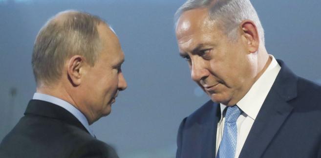 Premier Binjamin Netanjahu był w Moskwie tuż po wybuchu konfliktu z Polską