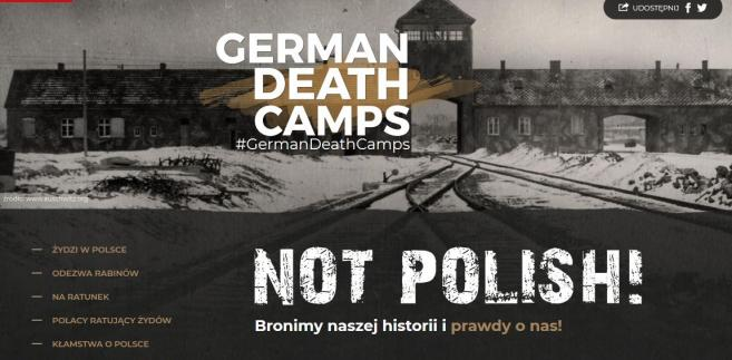 Strona germandeathcampsnotpolish.pl