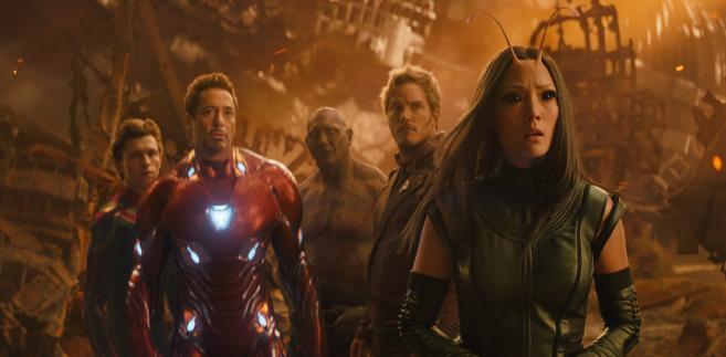 """Avengers: Wojna bez granic 2018"""