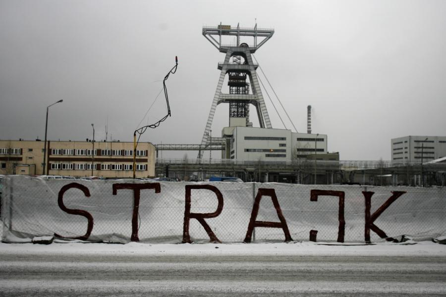 Strajk w kopalni Budryk