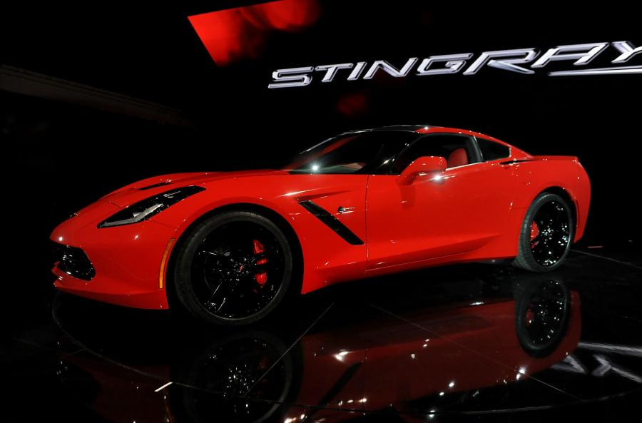 North American International Auto Show 2013: Chevrolet Corvette Stingray