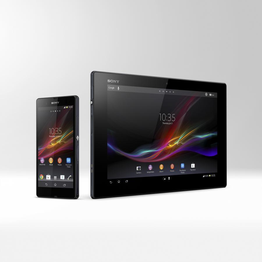 Tablet i smartfon Sony Xperia Z