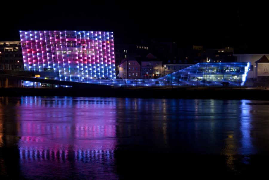Austria, Linz - The Ars Electronica Museum