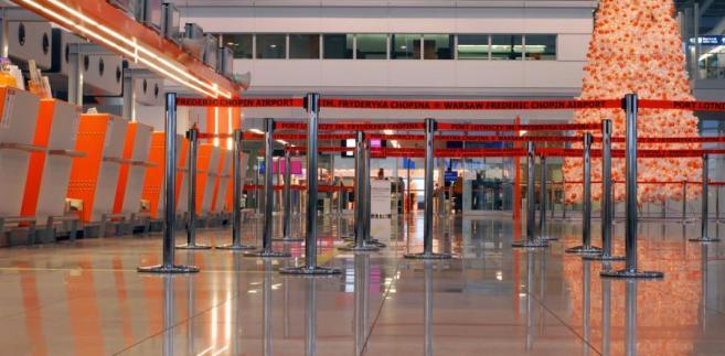 Lotnisko chopina w Warszawie - Terminal 2.