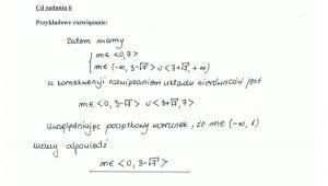 Rozwiązanie zadania 6 - część 2