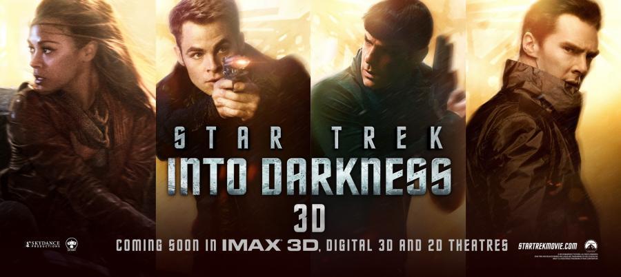 """W ciemność. Star Trek"""
