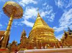Wat Phrathat Doi Suthep – jedna z najważniejszych i najbardziej rozpoznawalnych świątyń położonych w Chiang Mai.
