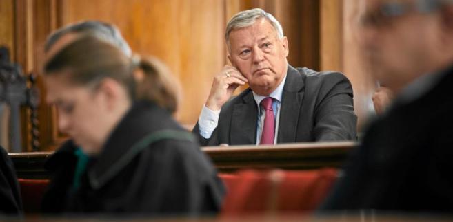 Jerzy Jędykiewicz w sądzie