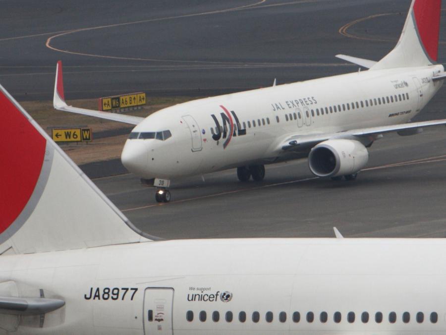 Samoloty linii lotniczych Japan Airlines