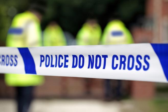 policja, taśma, morderstwo