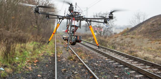 Drony w PKP Cargo. Fot. materiały PKP Cargo