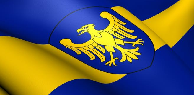 flaga województwa śląskiego