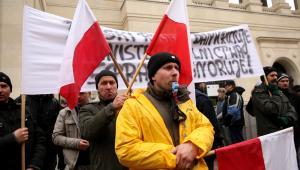 Rolnicy strajkują pod ministerstwem rolnictwa