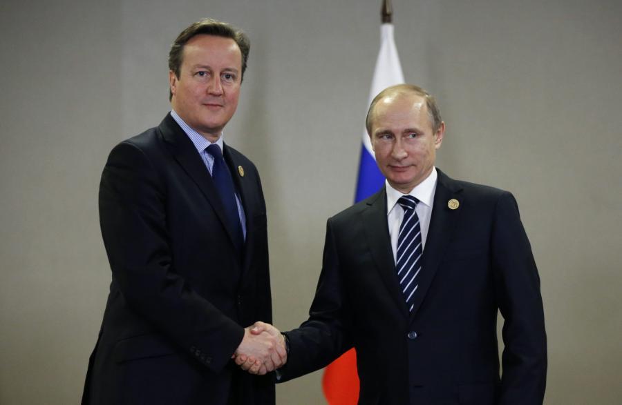 Cameron i Putin