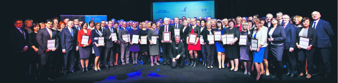 Laureaci i wyróżnieni w XII Rankingu Urzędów Skarbowych DGP. Uroczystość odbyła się w Teatrze Kamienica