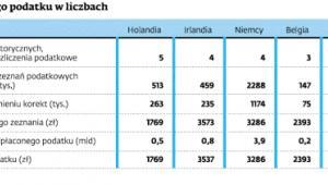 Zwrot zagranicznego podatku w liczbach