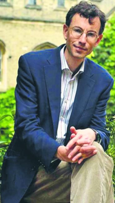 Brendan Simms, historyk stosunków międzynarodowych na Uniwersytecie w Cambridge