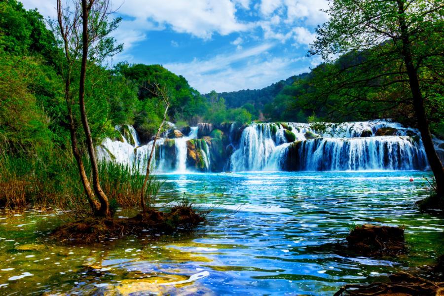 rzeka Krka, Chorwacja